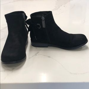 Girls Michael by Michael Kors Black ankle boots